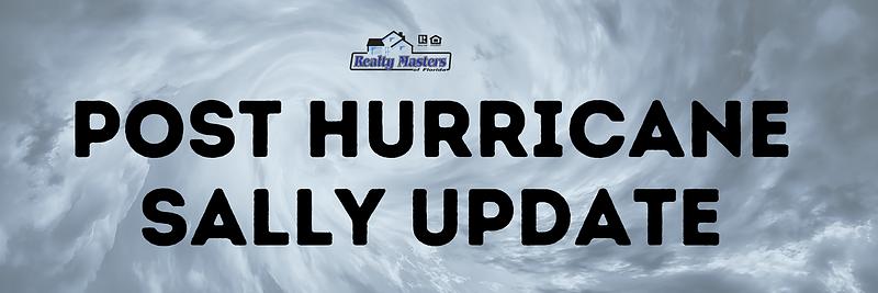 Post Hurricane Sally Update